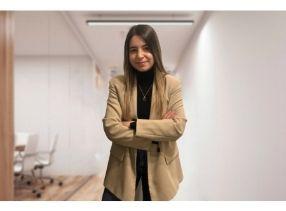Carla Mandado, our digital marketing trainee